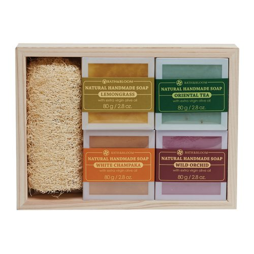 4 SOAP SET - HERBAL