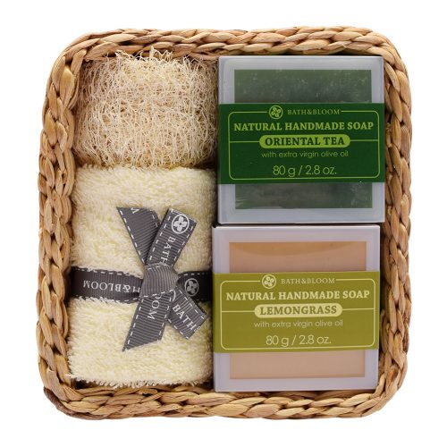 2 soap set LEMONGRASS - ORIENTAL TEA