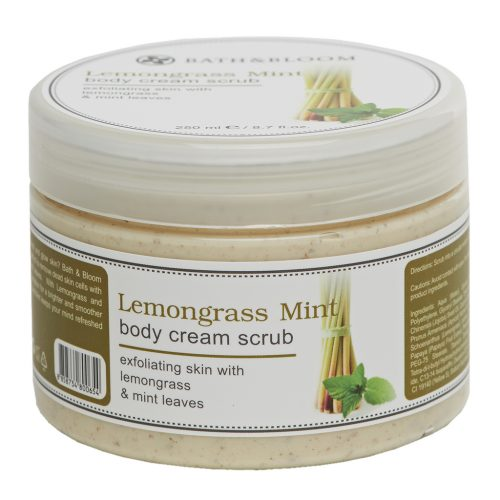 LEMONGRASS MINT BODY SCRUB